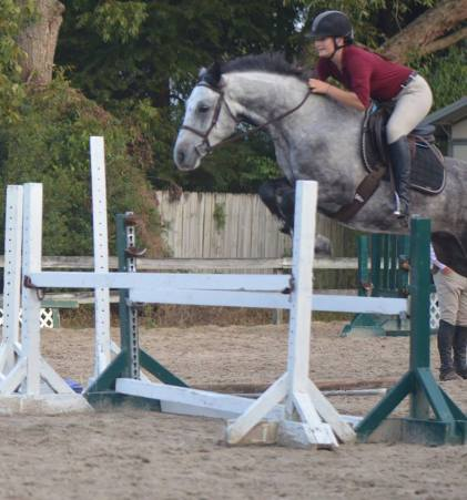 Porker and Gabrielle at the Laureen McKenzie clinic.